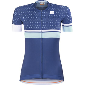 Sportful Diva Bike Jersey Shortsleeve Women blue/turquoise